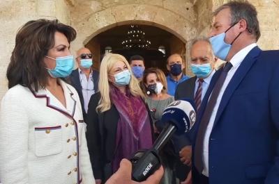 """Στις εκδηλώσεις  στην Πύλο για την Επιτροπή """"Ελλάδα 2021"""" συμμετείχε η Διευθύντρια του ΙΑΜΥ, Ν. Αδαμοπούλου"""